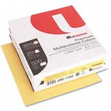 "Universal Premium Colored Paper - Letter - 8.50"" x 11"" - 20 lb Basis Weight - Recycled - 92 Brightness - 500 Sheet - Goldenrod"