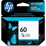 HP 60 Original Ink Cartridge - Single Pack - Inkjet - Standard Yield - 165 Pages - Color - 1 Each (CC643WN#140)