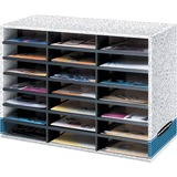 Bankers Box 21 Compartment Literature Sorter - Letter