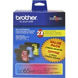 Brother LC65 High-yield Ink Cartridges