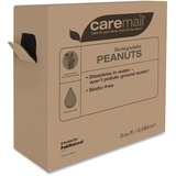 Caremail Peanuts with Dispenser Box - Static-free, Lightweight, Water Soluble - White