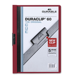Durable Duraclip Report Covers, DBL2214RD