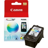 Canon CL-211XL ChromaLife100 Plus High Capacity Color Ink Cartridge - Cyan, Magenta, Yellow - Inkjet - 349 Page Tri-color - 1 Each
