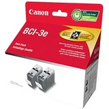 Canon BCI-3E Twin Pack Black Ink Cartridge