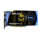 Galaxy 98PFF6HMUEXI GeForce 9800 GTX+ Graphics Card
