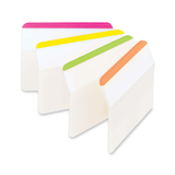 MMM686A1BB, 3M Post-it Durable Angled File Tabs, MMM 686A1BB