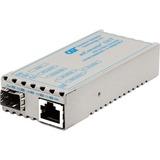 Omnitron miConverter GX/T Gigabit Ethernet to Fiber Media Converter