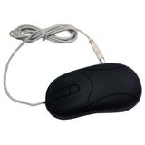 Grandtec MOU-600 Virtually Indestructible Mouse - Optical - USB - 2 x Button - Black