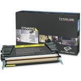 Lexmark Toner Cartridge - Laser - 6000 Pages - Yellow - 1 Each (C734A2YG)