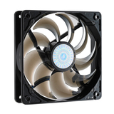 Cooler Master SickleFlow 120 - Sleeve Bearing 120mm Silent Fan for Computer Cases, CPU Coolers, and Radiators (Smoke (R4-C2R-20AC-GP)