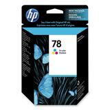 HP 78 Tri-Color Ink Cartridge