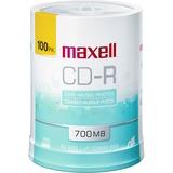 Maxell 48X White Matte Inkjet Printable CD-Rs