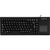 Cherry G84-5500 XS Touchpad Keyboard - USB - 88 Keys - Black - English (US)