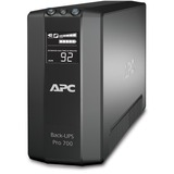 APC Back-UPS RS 700 VA Tower UPS - 700VA/450W - 3 Minute Full Load - 3 x NEMA 5-15R - Battery Backup System, 3 x NEMA (BR700G)