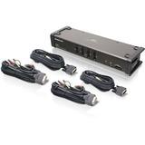IOGEAR GCS1104 KVM Switch - 4 x 1 - 4 x DVI-I Video, 4 x Microphone, 4 x Audio, 4 x Type B USB (GCS1104)