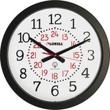 "Lorell 14"" Round Radio Controlled Wall Clock"