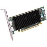 Matrox M9128 Graphic Card - 1 GB DDR2 SDRAM - PCI Express x16 - Low-profile - 2560 x 1600 - OpenGL 2.0, DirectX 9.0 - (M9128-E1024LAF)
