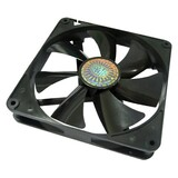 Cooler Master Sleeve Bearing 140mm Silent Fan for Computer Cases and Radiators - 140x140x25 mm, 1000 RPM speed, 60.9 (R4-S4S-10AK-GP)