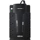 CyberPower Standby CP425SLG 425 VA Desktop UPS - 425 VA/255 W - Desktop - Full Load Runtime 2 Minute - 8 x NEMA 5-15R (CP425SLG)
