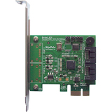 HighPoint RocketRAID 620 2-port SATA RAID Controller - Serial ATA/600 - PCI Express 2.0 x1 - Plug-in Card - RAID Supp (ROCKETRAID620)