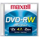 Maxell 2x 4.7GB DVD Rewritable Media