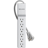 Belkin Home/Office BE106001-06R SlimLine 6-Outlets Surge Suppressor | SDC-Photo