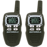 Motorola MB140R Talkabout 2-Way Radio - 7 x FRS, 8 x GMRS, 7 x GMRS/FRS - 52800 ft