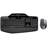 Logitech Wireless Desktop MK710 Keyboard & Mouse - USB Wireless RF Keyboard - French - USB Wireless RF Mouse - Laser (920-002418)