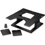 3M Ergonomic Notebook Riser - 13.9IN Height x 9.1IN Width x 14.1IN Depth - Black (LX500)