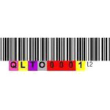 Quantum 3-05400-10 Data Cartridge Barcode Label