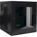 Tripp Lite 12U Wall Mount Rack Enclosure Server Cabinet Hinged Swinging Acrylic Window - 19IN 12U Wall Mounted (SRW12USG)