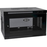 Tripp Lite 6U Wall Mount Rack Enclosure Server Cabinet w/ Door & Side Panels - 19IN 6U Wall Mounted (SRW6U)