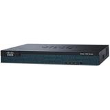 Cisco 1921 Integrated Services Router - 2 Ports - Management Port - PoE Ports - 2 Slots - Gigabit Ethernet - 1U - Rac (CISCO1921-SEC/K9)