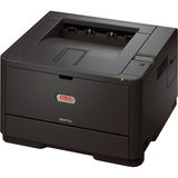 Oki B411D LED Printer - Monochrome - 2400 x 600 dpi Print - Plain Paper Print - Desktop | SDC-Photo