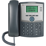 Cisco SPA 303 IP Phone - Cable - Wall Mountable - 3 x Total Line - VoIP - Caller ID - 2 x Network (RJ-45) - Monochrom (SPA303-G1)