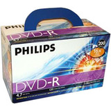Philips DM4S6U02C/17 16x 4.7GB DVD Recordable Media