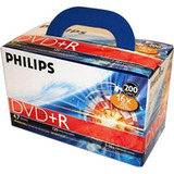 Philips DR4S6U02C/17 16x 4.7GB DVD Recordable Media