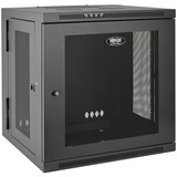 Tripp Lite 10U Wall Mount Rack Enclosure Server Cabinet Hinged w/ Door & Sides - 19IN 10U Wall Mounted (SRW10US)