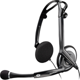 Plantronics .Audio 400 DSP Headset - Stereo - USB - Wired - Over-the-head - Binaural - Semi-open (76921-11)