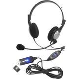 Andrea Electronics Analog Noise Canceling PC Stereo Headset NC-185VM