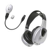 Califone Infrared Stereo/Mono Wireless Headphone Set Via Ergoguys