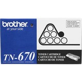 Brother TN670 Original Toner Cartridge - Laser - 7500 Pages - Black - 1 Each (TN670)