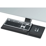 Fellowes Designer Suites™ Compact Keyboard Tray - 3IN Height x 27.5IN Width x 18IN Depth - Black (8017801)