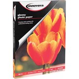 "Innovera Photo Paper - Letter - 8.50"" x 11"" - Glossy - 100 Sheet - White"