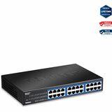 TRENDnet TEG-S24DG Gigabit GREENnet Switch - 24 x Gigabit Ethernet Network - 2 Layer Supported - Lifetime Limited War (TEG-S24Dg)