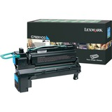 Lexmark C792X1CG Original Toner Cartridge - Laser - Cyan - 1 Each (C792X1CG)