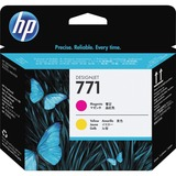 HP 771 Original Printhead - Single Pack - Inkjet - Magenta - 1 Each (CE018A)