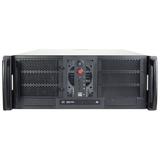 Chenbro RM42300 Rackmount Enclosure - Rack-mountable - Steel - 4U - 10 x Bay - 1 x Fan(s) Installed - Micro ATX, ATX, (RM42300-F)