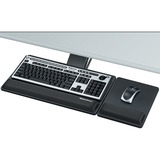 Fellowes Designer Suites™ Premium Keyboard Tray - 3IN Height x 27.5IN Width x 19IN Depth - Black (8017901)