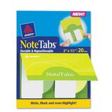 Avery NoteTabs Round Edge File Tab, AVE16386